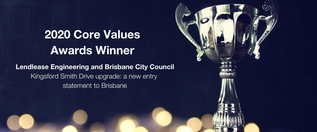 Lendlease Engineering and Brisbane City Council 202 CVA winner Infrastructure Construction