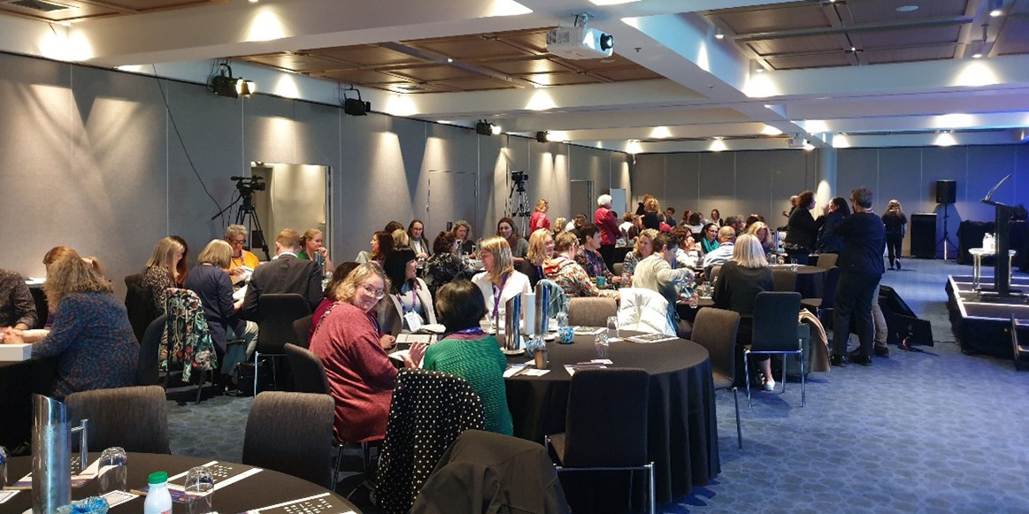 NZ Symposium attendees in a session