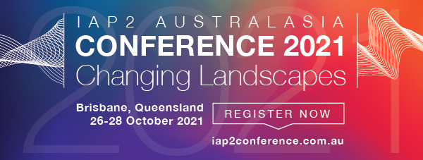 IAP2A Conference 2021 Register Now